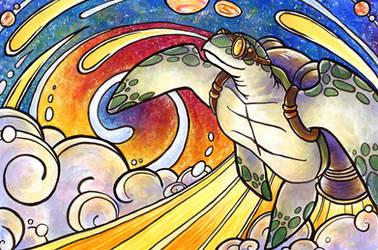 Space Turtle Redux by SpaceTurtleStudios