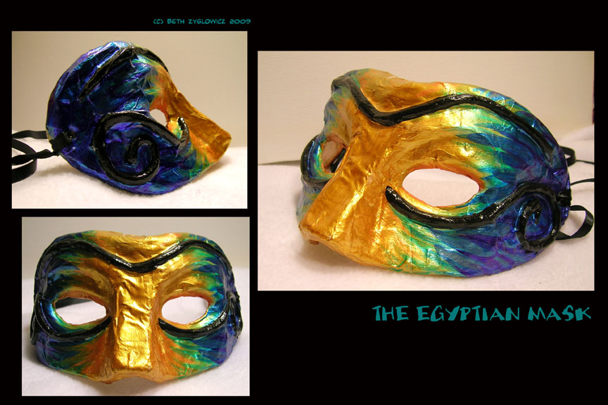 The Egyptian Mask by SpaceTurtleStudios