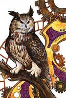 Clockwork Owl by SpaceTurtleStudios