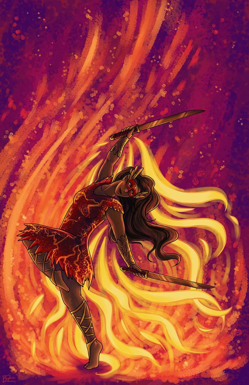 Pheonix Dancer by SpaceTurtleStudios