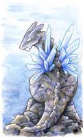 30 Days of Dragons - Day 7 - Stone Dragon