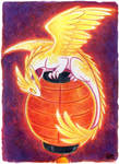30 Days of Dragons - Day 8 - Lantern Dragon