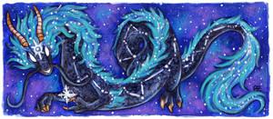 30 Days of Dragons - Day 17 - Constellation Dragon