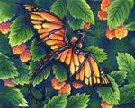 30 Days of Dragons - Day 22 - Monarch Dragon