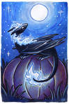 30 Days of Dragons - Day 29 - Moonlight Dragon