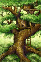 The Climbing Tree by SpaceTurtleStudios