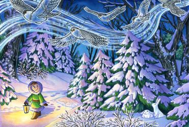 Winter Silence by SpaceTurtleStudios