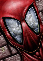 spiderman hulk fantastic 4 by Vinz-el-Tabanas