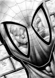 spiderman hulk pencil sketch by Vinz-el-Tabanas