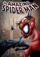 spiderman love venom color by Vinz-el-Tabanas
