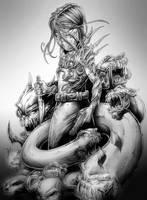 The Kid Darkness sketch by Vinz-el-Tabanas