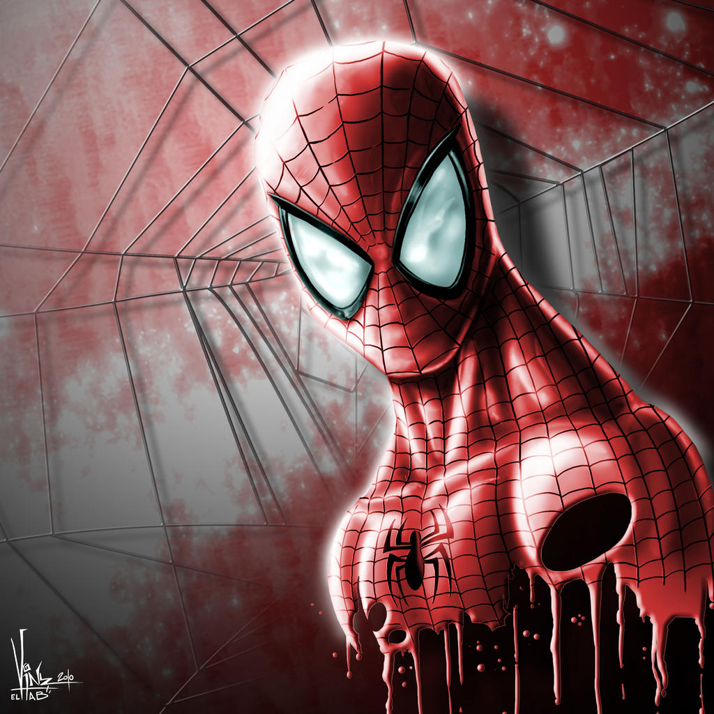 SPIDERMAN Digital painting by Vinz-el-Tabanas
