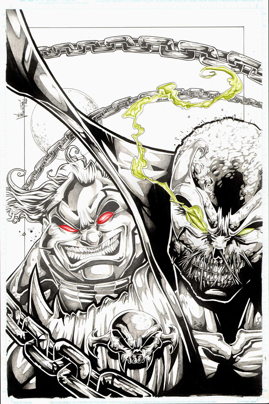 commission Spawn vs violator by Vinz-el-Tabanas