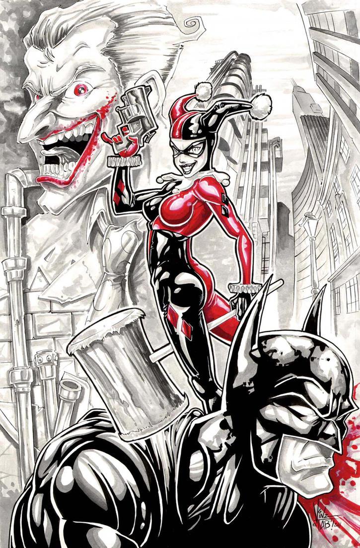 Harley Quinn by Vinz-el-Tabanas on DeviantArt