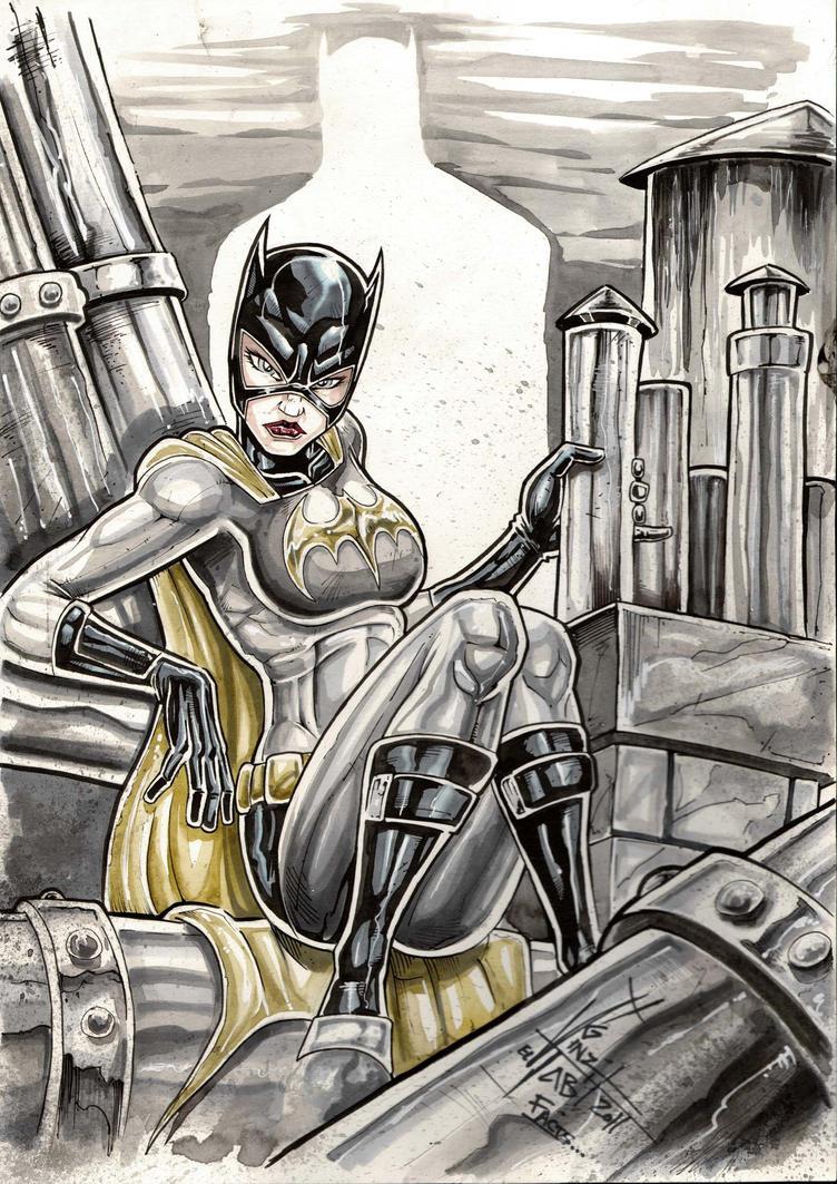 Batgirl com by Vinz-el-Tabanas