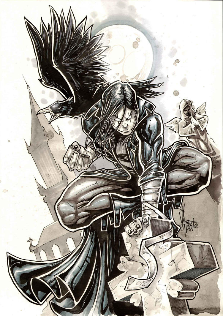 The crow by Vinz-el-Tabanas
