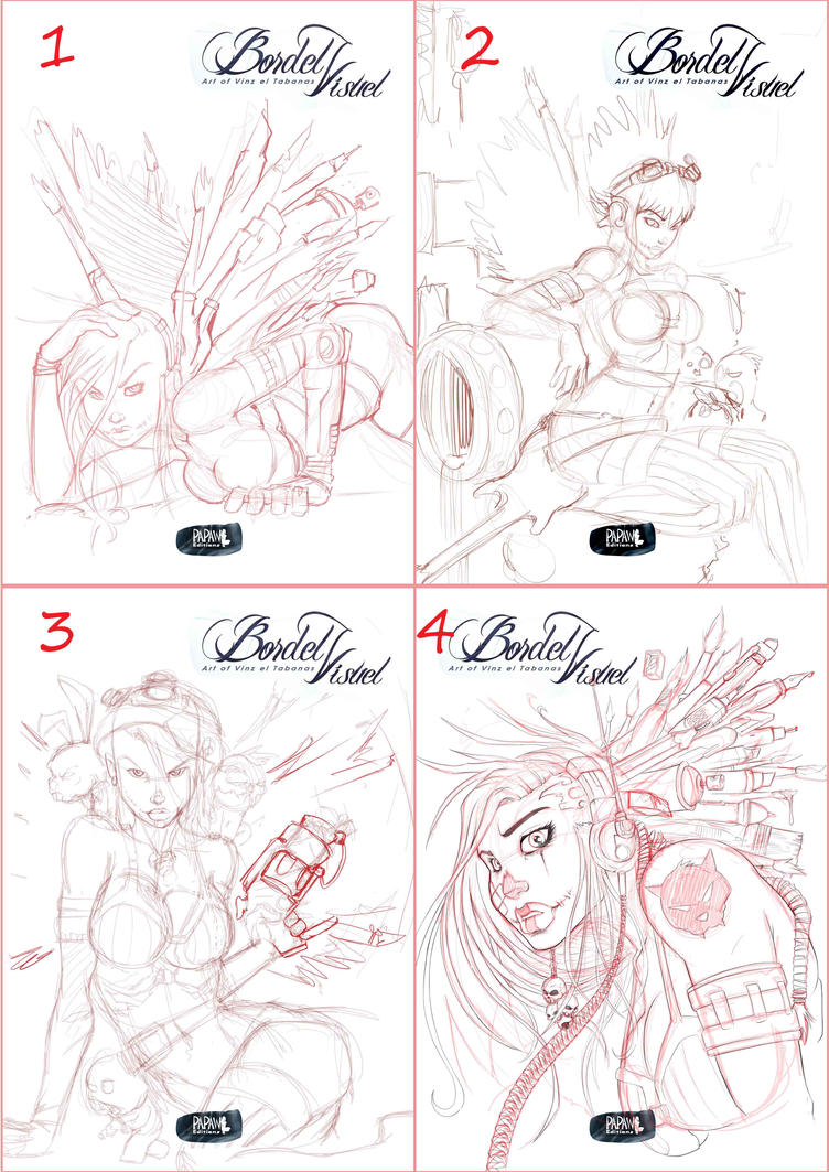Choose your Artbook Cover by Vinz-el-Tabanas