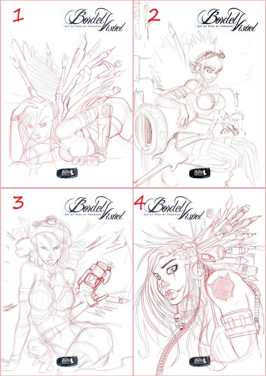 Choose your Artbook Cover by Vinz-el-Tabanas