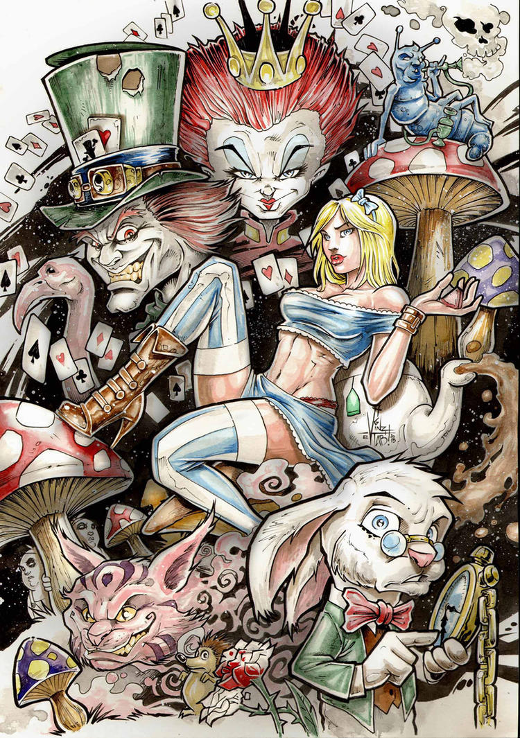 Alice in wonderlands by Vinz-el-Tabanas