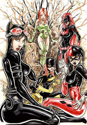 BAT girls by Vinz-el-Tabanas