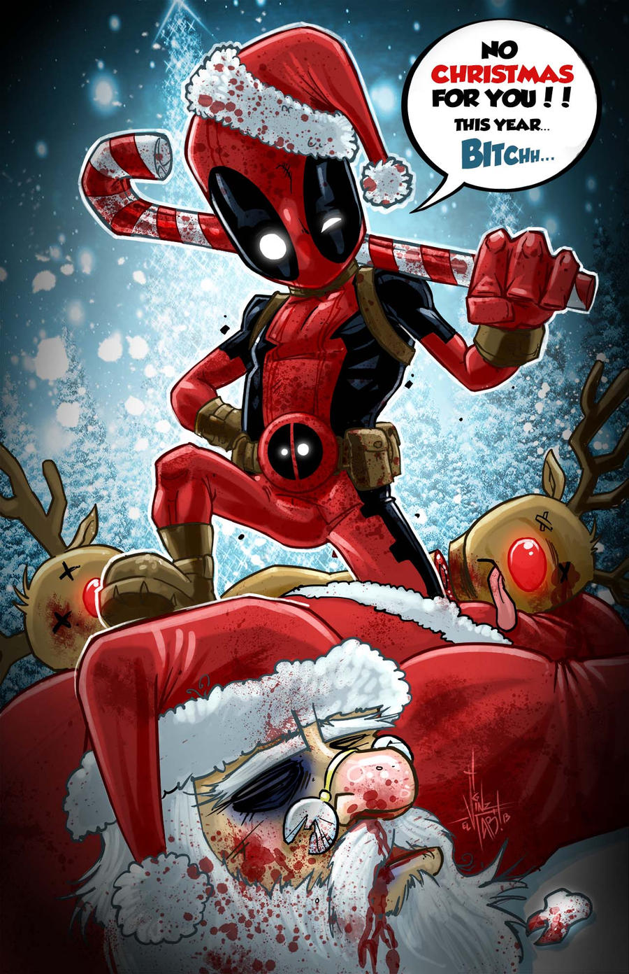 Joyeux Noël 2014 Deadpool_chrismas_by_vinz_el_tabanas-d6ydb2p