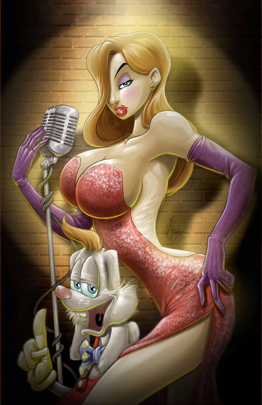 Jessica RABBIT by Vinz-el-Tabanas