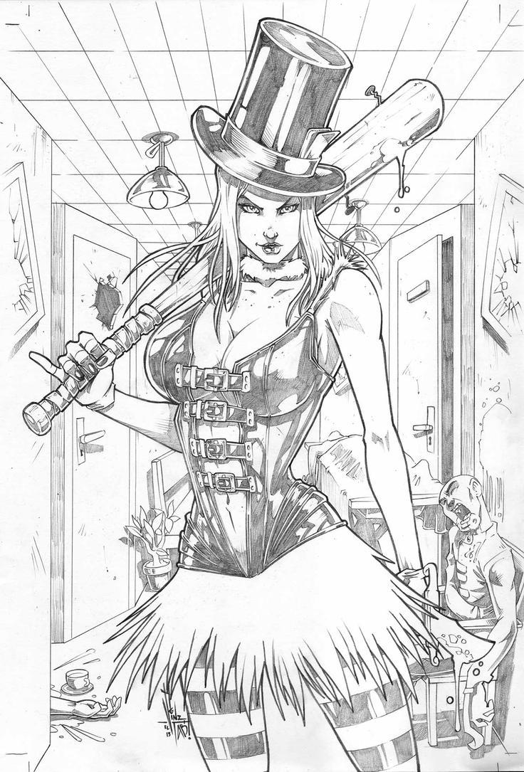 Grimm Fairy Tales Wonderland Asylum #4 by Vinz-el-Tabanas ...