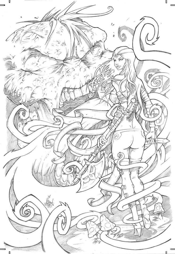 Grimm Fairy Tales Wonderland #29 by Vinz-el-Tabanas