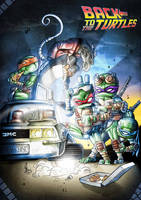 Back to the TMNT by Vinz-el-Tabanas
