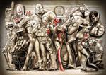 BATMAN ENEMY family by Vinz-el-Tabanas