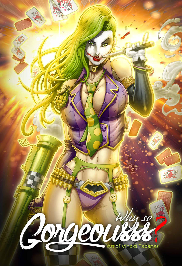 JOKER GIRL by Vinz-el-Tabanas
