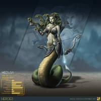 HEROES  ASC medusa by Vinz-el-Tabanas
