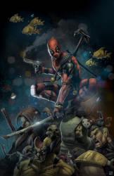 Deadpool 2018 by Vinz-el-Tabanas