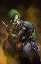 Punk Rock Joker by Vinz-el-Tabanas