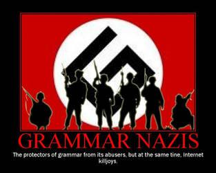 Grammar Nazis by TPS-Enzo