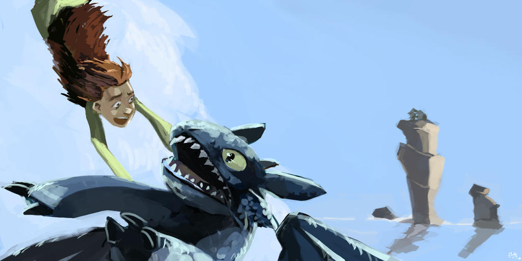 how to train your dragon by mohja