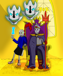 King Papyrus Redraw 2 by Arerona