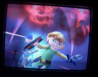 Run, toon Link.. RUN