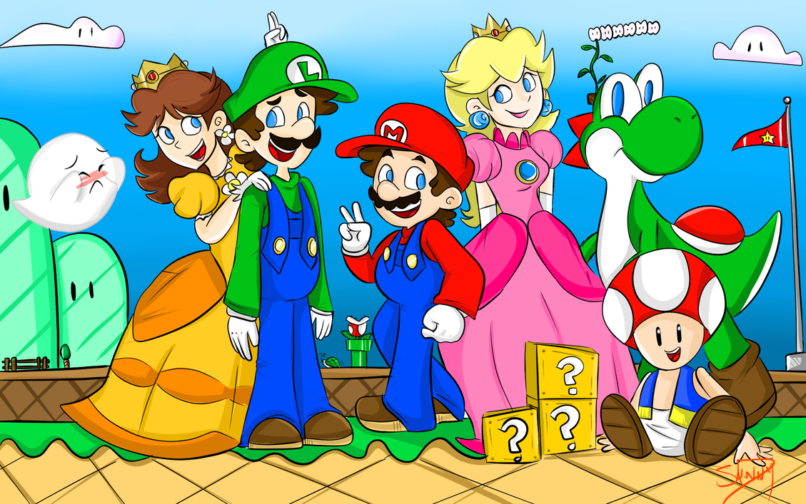 Mario: Smile for the Camera! by lewisrockets