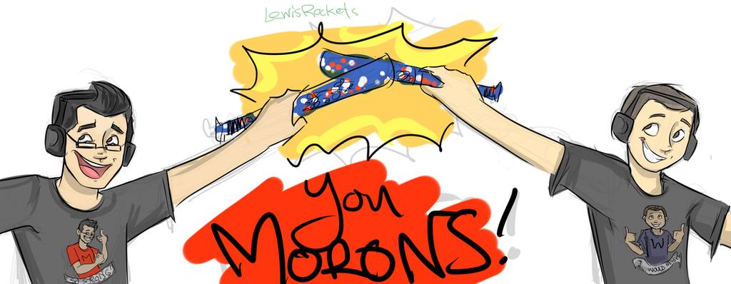 YT: Markiplier Stream doodle 1 by lewisrockets