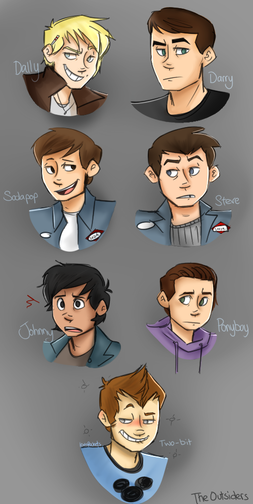 The Outsiders by lewisrockets