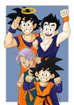 DBZ: Group pose