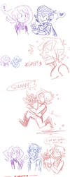 OC CRACK: Flowers for Sunny -ship/scenario by lewisrockets