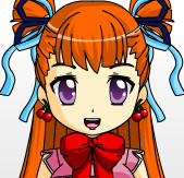 Cute Anime Girl I Made In Anime Face Maker 2 by Nadeeta