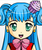 Another Cute Girl I Made In Anime Face Maker 2 by Nadeeta