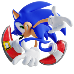 Sonic Adventure Pose 3D Remake Variant