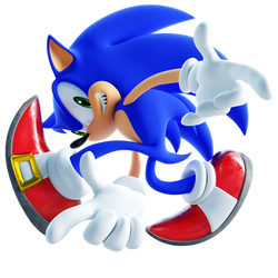 Sonic Adventure Pose 3D Remake Variant 2