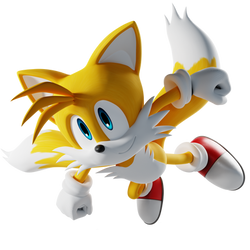 Tails the Fox Render - Flying High