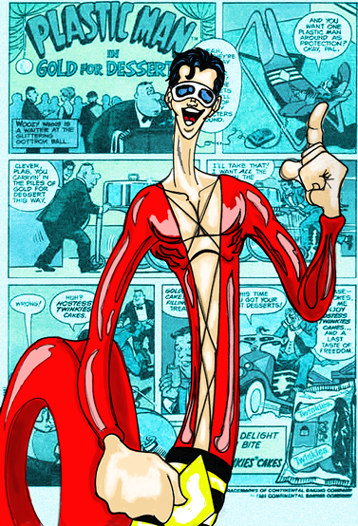 Image result for plastic man comics