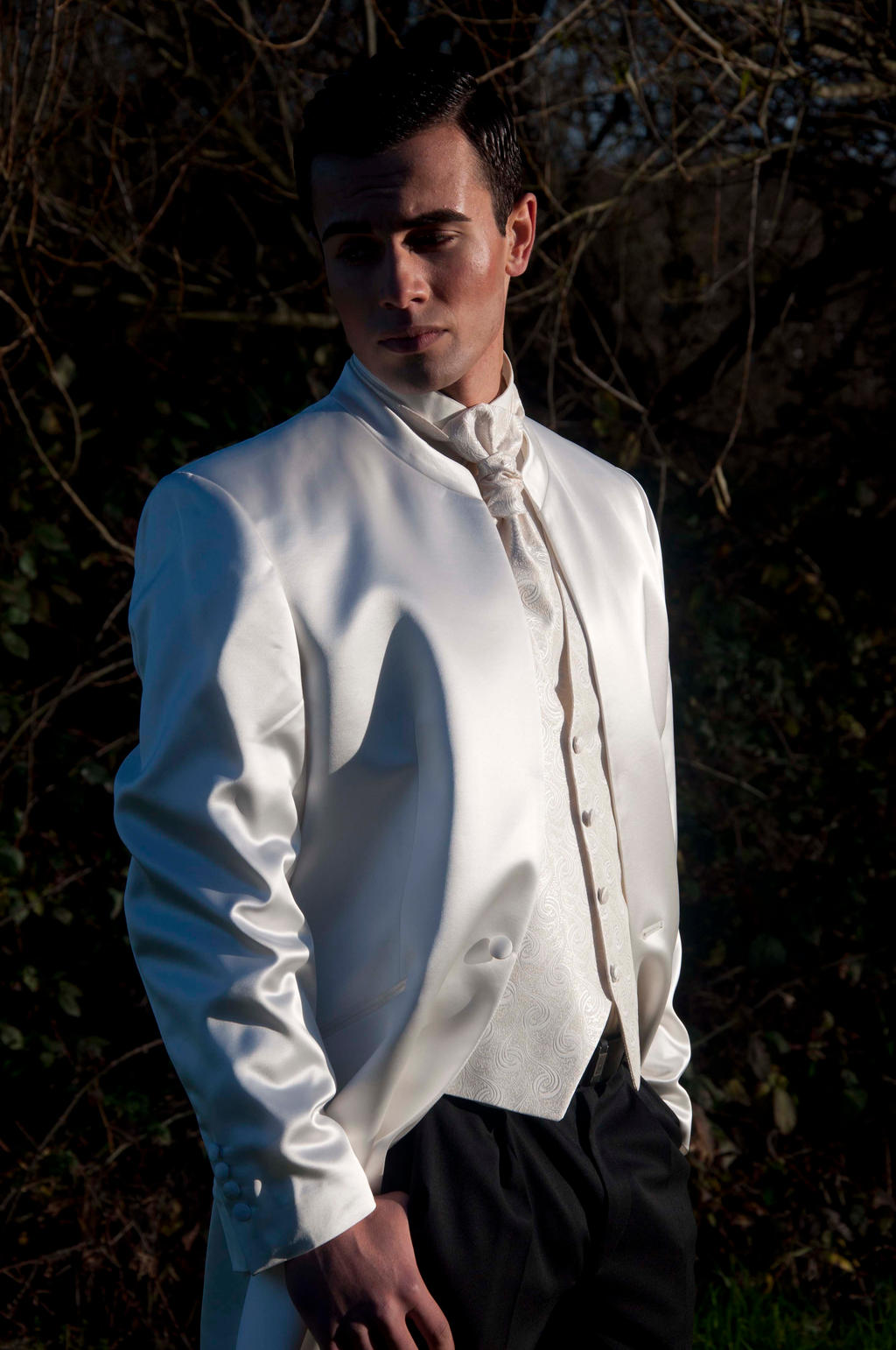 white suit  prince charming by XNBcreative